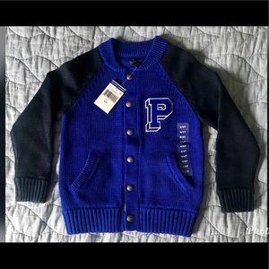 Boys 4/4T Varsity Big P Polo Ralph Lauren Sweater